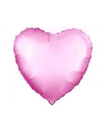 Шар Agura Сердце Розовый  (19 дюймов, 25 шт в уп) 751039