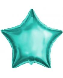 Шар Agura Звезда бирюзовый (21/53 см., в уп. 25 шт.) 750735