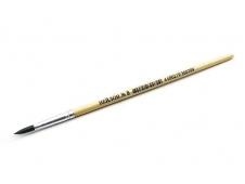 Кисть художественная: № 8, нейлон, деревянная ручка TZ 7710