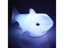 "Светильник-ночник ""Акула"" 9*5 см LED на батарейках 615-0287"