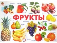 Обучающее пособие - плакат Фрукты