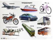 Плакат Транспорт