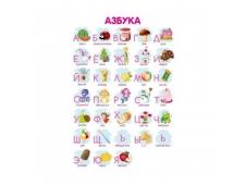Плакат А3 Алфавит для девочек 10-08-0003
