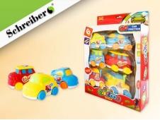 Набор пластиковых игрушек МАШИНКИ, 6 шт, в картонной коробке цена за шт.(27х22х7 см) S 3029