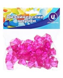 """Украшение декоративное  """"Кристалл"""" розовый 100гр 14 645-602"""