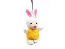 Мягкая игрушка Брелок кролик моб/тел,9,99,100,19