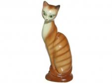 Копилка кошка Ася 29см глазурь