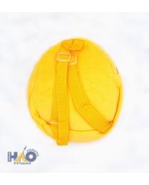 Рюкзак плюшевый СМАЙЛЫ, 23х20 см S 3440