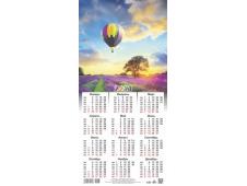 Календарь листовой 2021 Третинка 00007 Лаванда