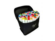 Набор скетч-маркеров в сумке, 60цв AN-BAG-B60