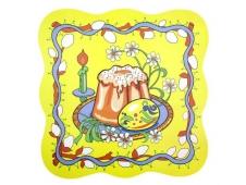 Салфетка на стол 31*31см, Пасха 3 дизайна FJ51-73 904-116
