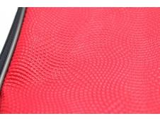 Папка менеджера МАЛИНОВЫЙ (ПМН-5175) принтованная ткань, капля, 360х270мм