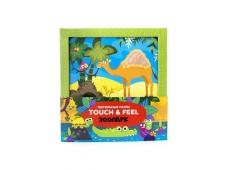 Тактильные пазлы Touch & feel. Зоопарк
