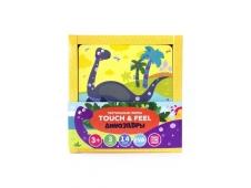 Тактильные пазлы Touch & feel. Динозавры