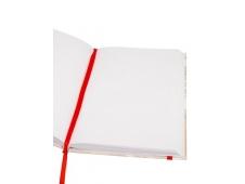 Записная книжка А5 64л, МЕДВЕДЬ И ПИНГВИНЧИК (64-0384) 7БЦ, блок в точку 1+1, ляссе, резинка