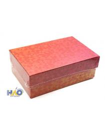 """Одинарная прямоугольная коробка """"Переливы""""  17*11*6 см ПП-3463"""