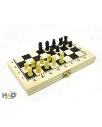 Игра настольная Шахматы 21х11 см, дерево ч09591