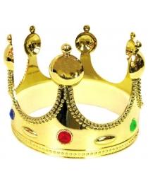 Корона золотая 17 см (55 см)