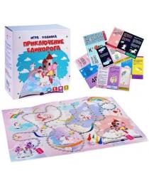 """Игра-ходилка с карточками в коробке """"Приключение единорога""""  ТМ Ракета , арт.Р2534"""