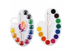 Краска акварельная, Луч «ПАЛИТРА», 12 цветов, пластиковая упаковка, медовая 29С 1761-08