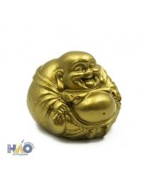 """Статуэтка золотая """"Хотей исполняющий желания"""" (6х6х6 см) Т-4967"""