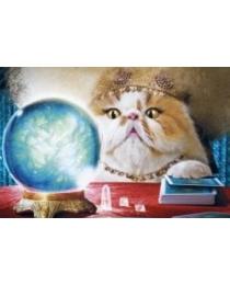 Открытка 0114.292 Кошка