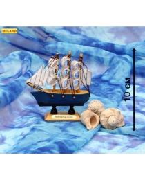 """Сувенирный корабль малый """"Навстречу мечте - 8"""" (10 см) КС-3446"""