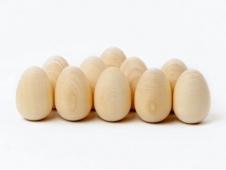 Яйцо 36Х52 малое.Счетный материал 10 штук.Без росписи (ТМ Ракета)