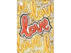 """Открытка-отношение """"LOVE"""" 008.398"""