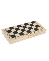 Игра настольная Шахматы 24х12.5см, дерево ч09592