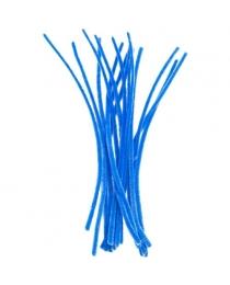 Проволка СИНЯЯ синельная, d=6 мм, длина 30 см, 15 шт., п/п с е/п арт.FD030047-3